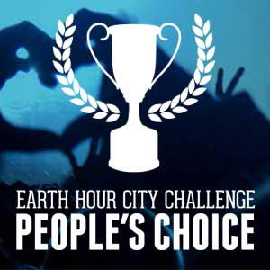 Rösta på finalisterna i Earth Hour City Challenge